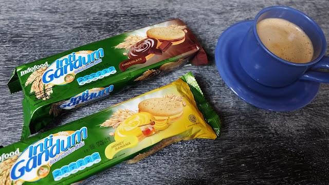 Indofood Inti Gandum cemilan sehat sandwich gandum madu pertama di indonesia