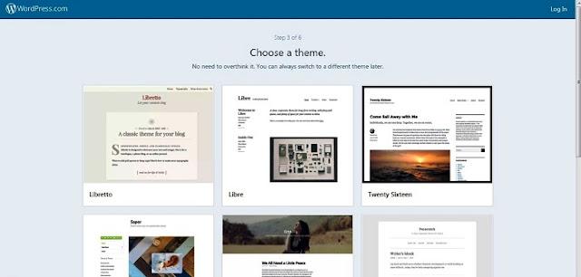 pilih theme wordpress kesukaan anda