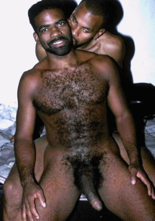 Black Hairy Gay Men 69