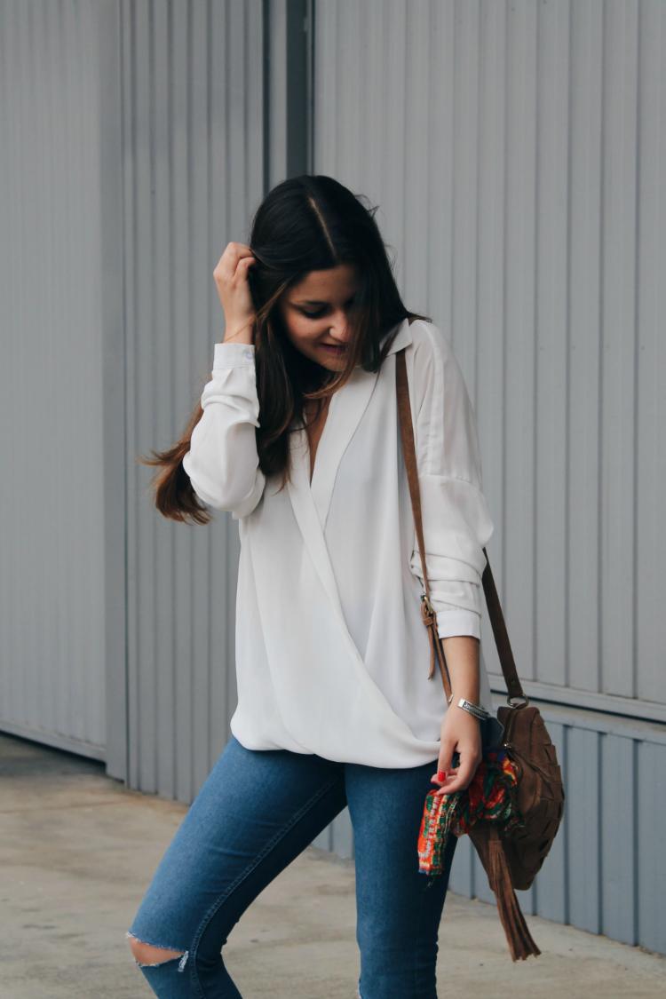 outfit zuecos blogger moda leon