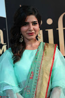 Samantha Ruth Prabhu Smiling Beauty in strange Designer Saree at IIFA Utsavam Awards 2017  Day 2  Exclusive 07.JPG