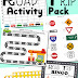 Road Trip Activity Pack for Traveling with Kids