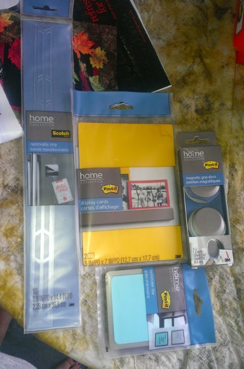 post it home organization products
