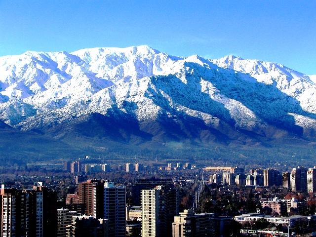 Santiago do Chile em agosto