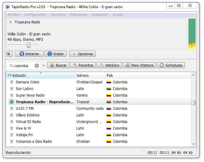 Tapin Radio Pro 2.03 Full (Programa para escuchar radio)