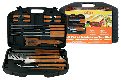 Krazy Deal Daze June Giveaway 2018 Mr. BBQ 18 piece BBQ tool set