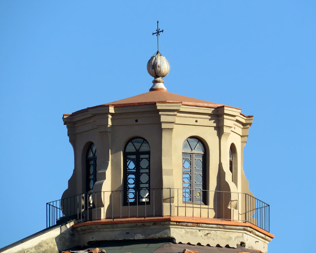 The lantern of the dome of Santa Caterina (Saint Catherine), Piazza dei Domenicani, Livorno