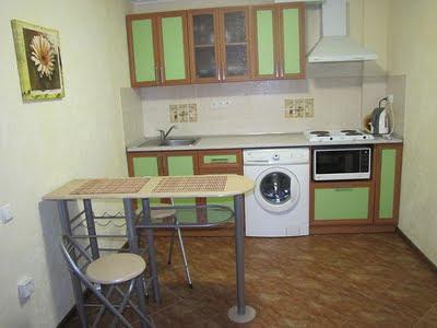 1-комнатные апартаменты (вариант 2) отельного комплекса в Семидворье