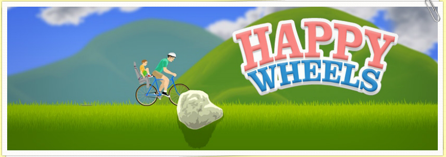how to play happy wheels full screen