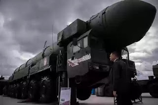 Russia's newest nuclear missile Satan 2