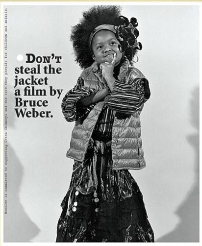 Bruce Weber Film and Posters for Moncler