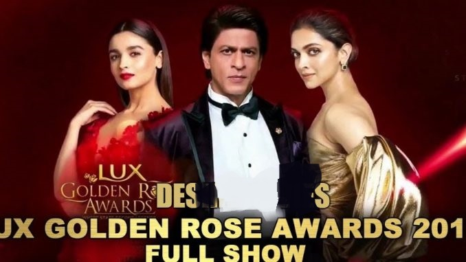 Lux Golden Rose Awards (2018) Hindi 350MB HDRip 480p x264