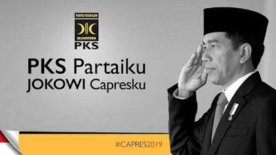 Beredar Poster Dukungan PKS untuk Jokowi di 2019, Ini Penjelasan PKS