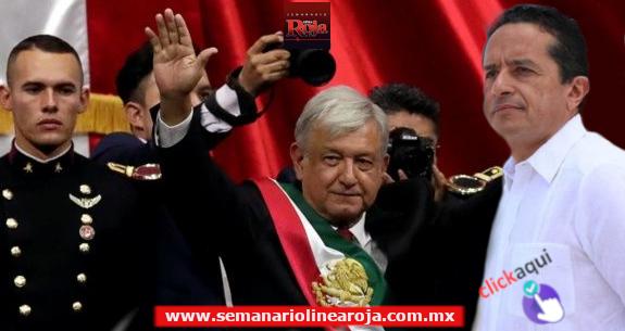 DESDE EL TÁRTARO... AMLO Toma de Protesta le peje a quien le peje y el gobernador de Quintana Roo nada más no deja su..!