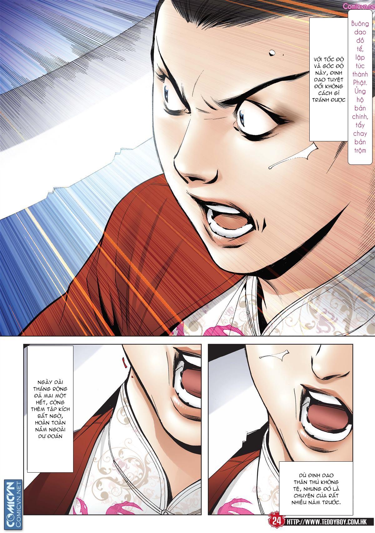 Người Trong Giang Hồ chapter 2001: tự tận trang 23