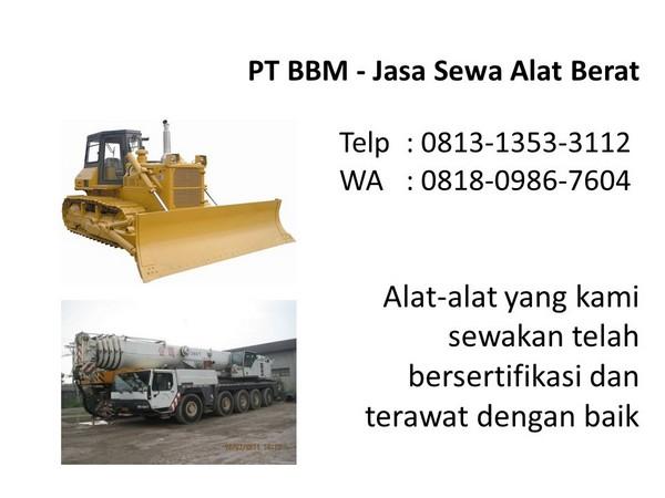 harga rental alat berat bulldozer di bandung dan jakarta
