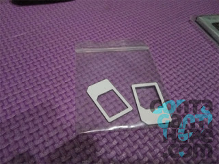 Hisense Pureshot - Disertakan micro to mini sim card adapter