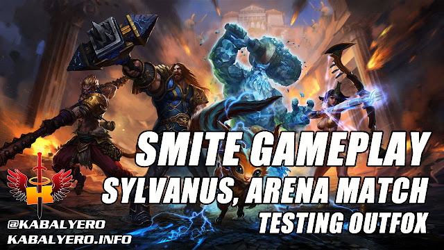 Smite Gameplay, Sylvanus, Arena Match Win & Testing Outfox 🎮 KABALYERO