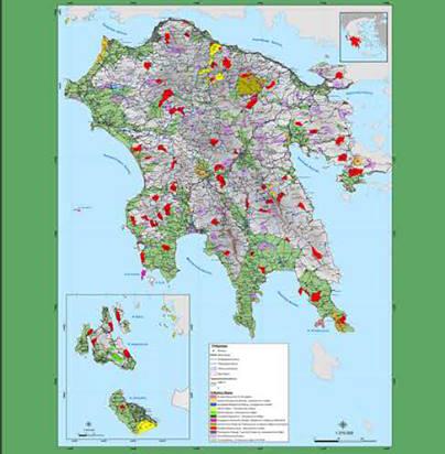 Δωρεάν διανομή Κυνηγετικού Χάρτη από την Κυνηγετική Ομοσπονδία Πελοποννήσου