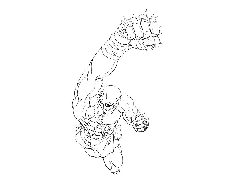 street fighter coloring pages - photo#45