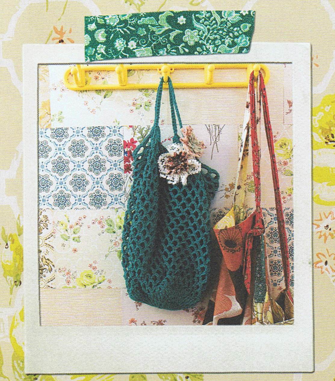 image granny chic book tif fussell rachelle blondel crochet string bag tote