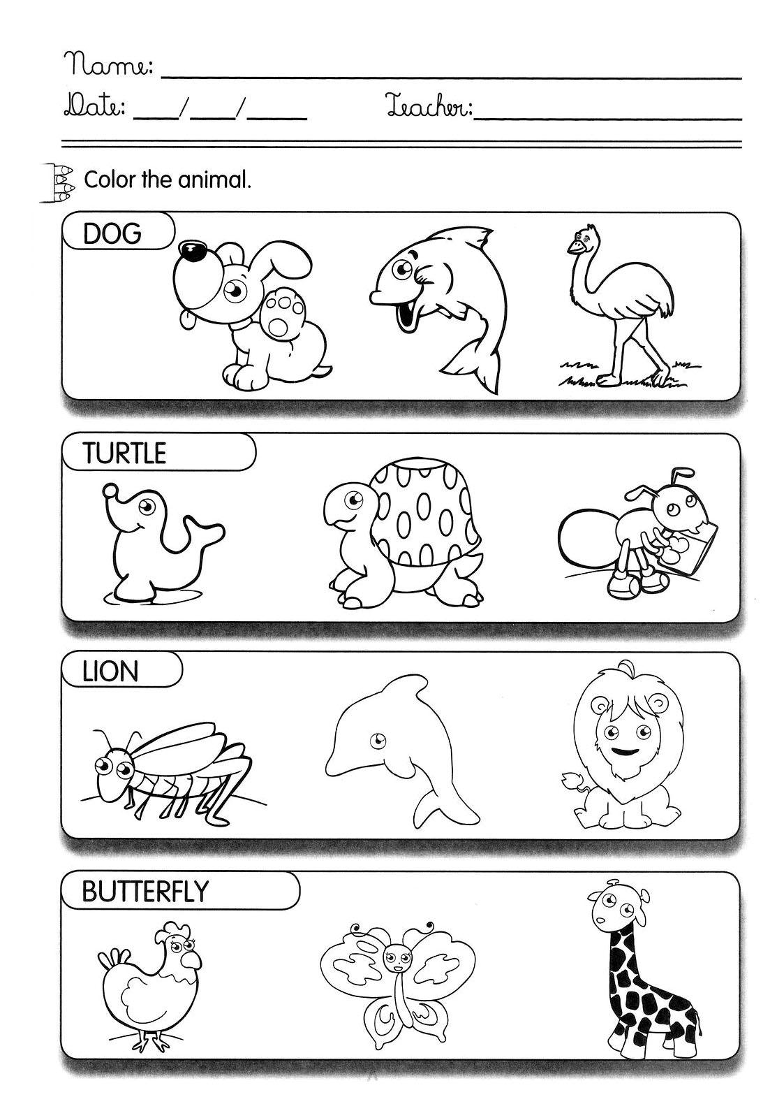 Ingles Atividades Para Series Iniciais Cantinho Do Educador Infantil