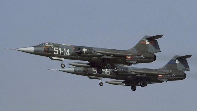 """F-104 Starfighter: quando da """"G"""" divenne """"(S)uper""""."""