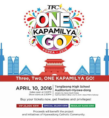 TFC Brought The First Ever One Kapamilya Go 2016 to Korea