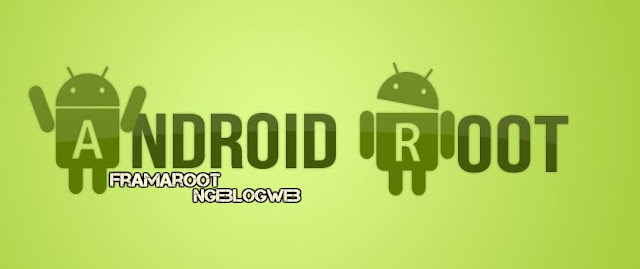Root android dengan Framaroot
