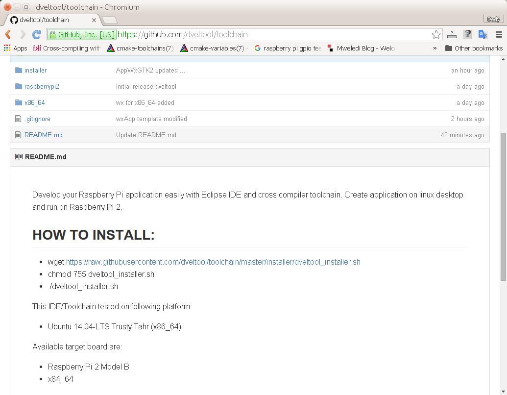 Download Raspberry Pi Toolchain - Cross Compiler ~ Dedy