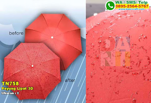 Payung Lipat 3D