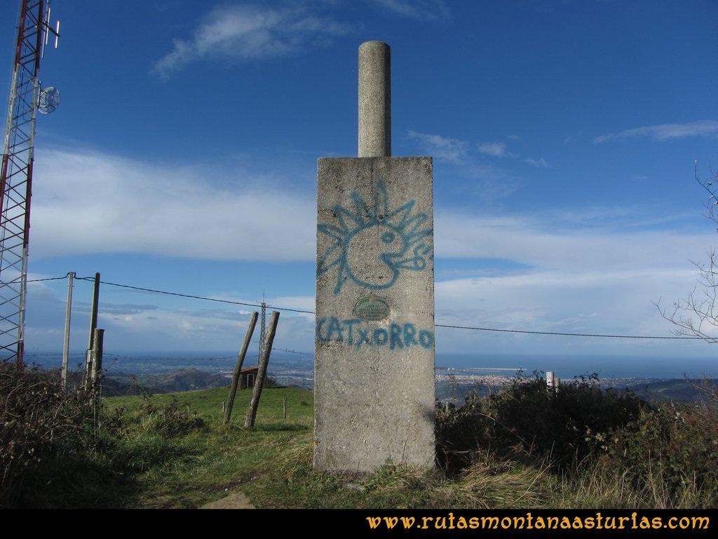 Ruta Deva, Gavio Cimero, Fario, Peña Cuatro Jueces:  Pico Cima o Fario