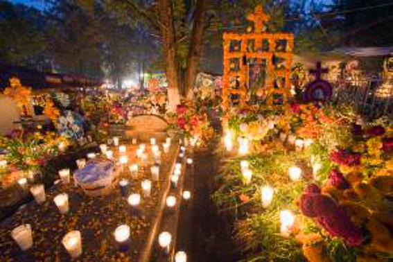 El dia de todos los muertos en Mexico