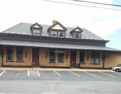 Pennsylvania Railroad Station in Duncannon