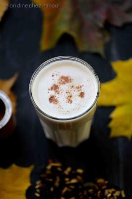 Chaï tea , palais des thés , pumpkin latte , reconfortant