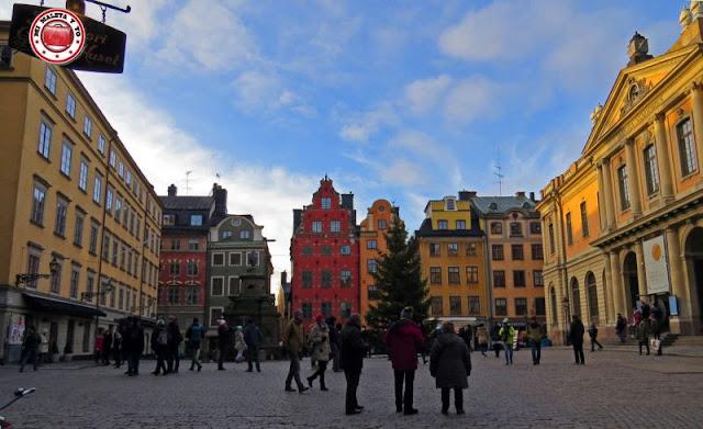 Stortorget, Estocolmo, Suecia