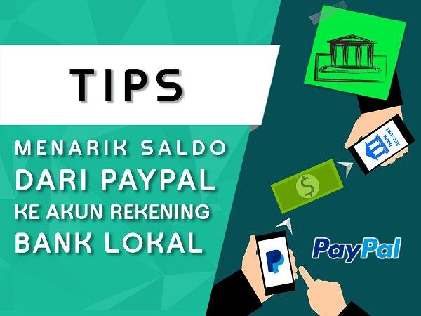 cara transfer saldo paypal ke rekening bank lokal