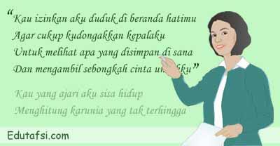 PEMBAHASAN UN BAHASA INDONESIA TENTANG PUISI