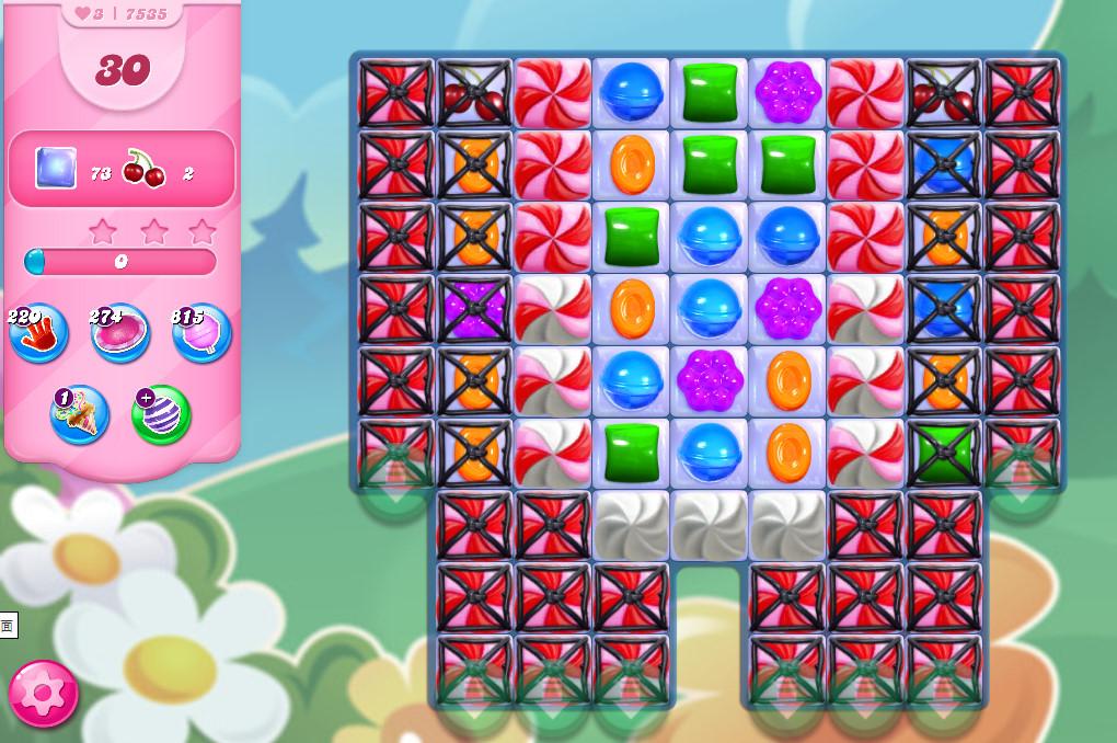 Candy Crush Saga level 7535