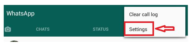 unblock on whatsapp settings
