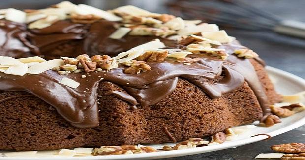 Chocolate Praline Bundt Cake Recipe