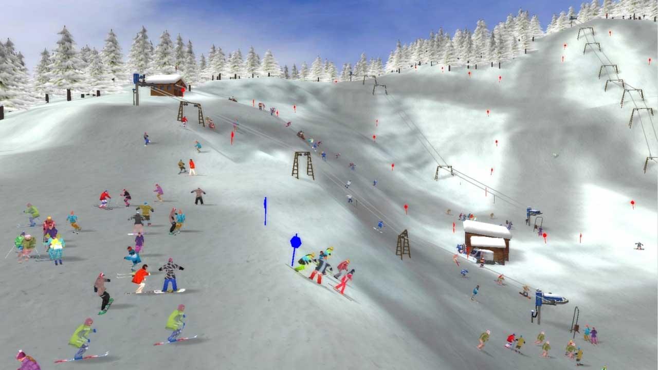 تحميل لعبة Ski Park Tycoon