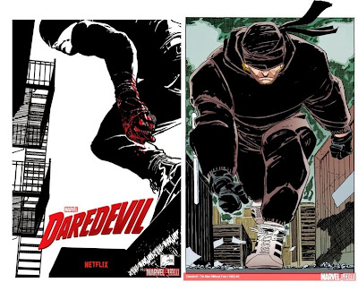 Concept art for Netflix Daredevil TV series by Marvel Studios