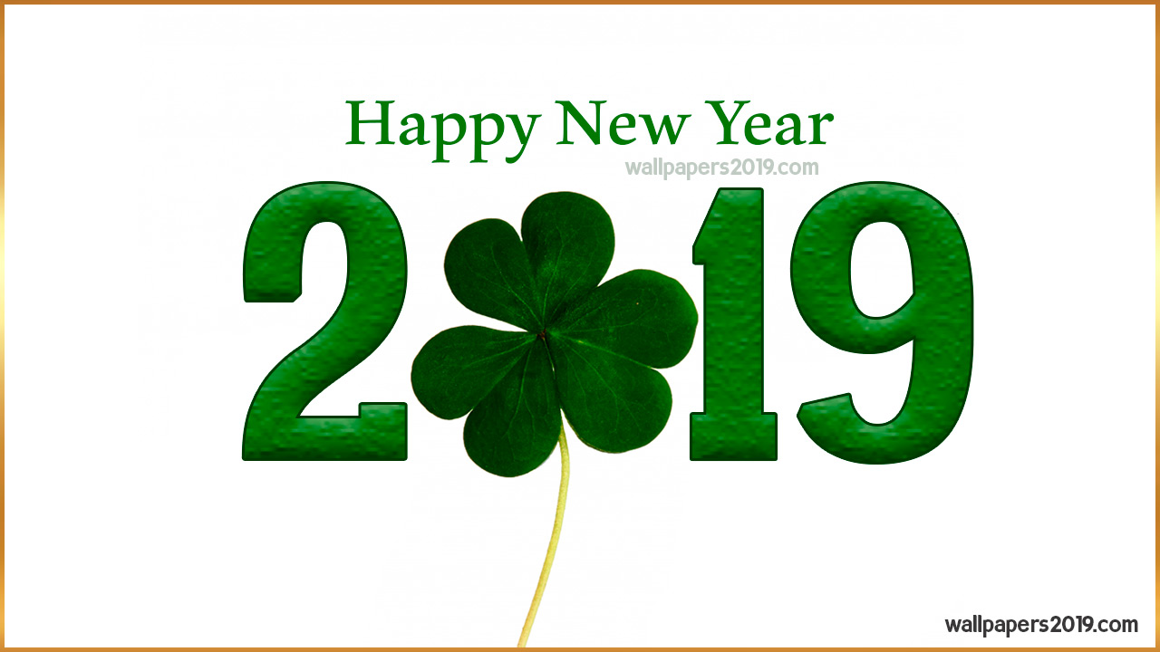 happy new year 2019 clover