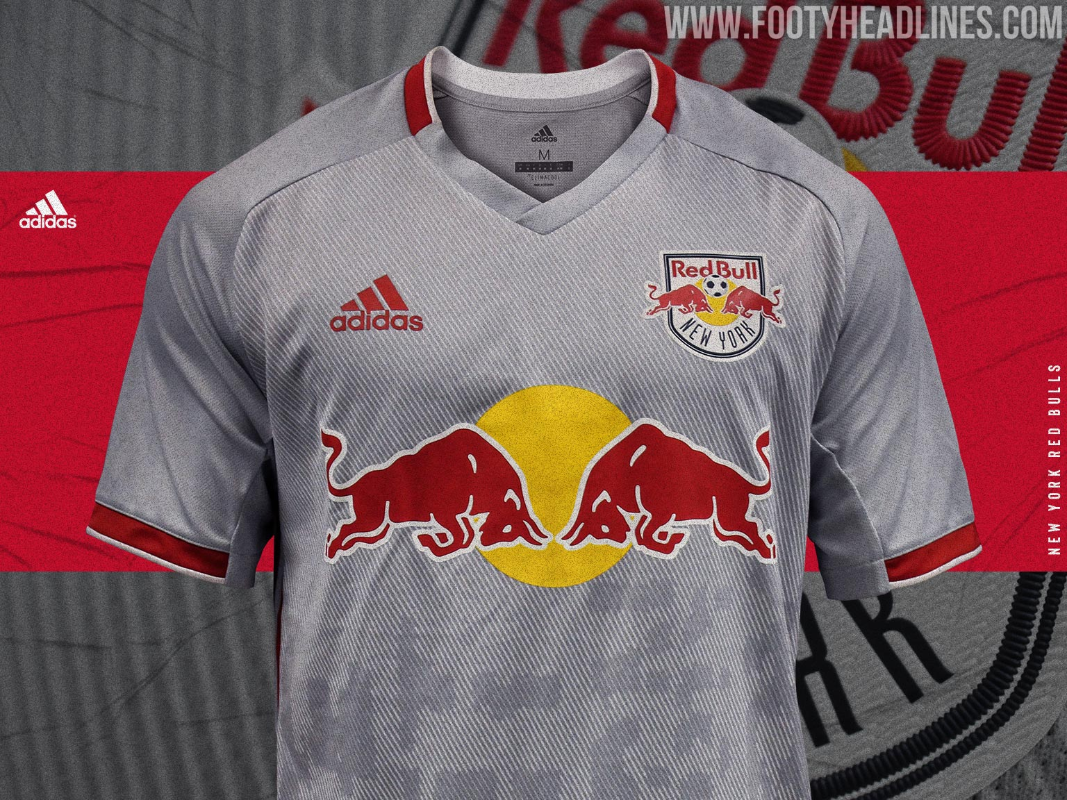 37a7ec22282 The New York Red Bulls just revealed their new 2019 home kit