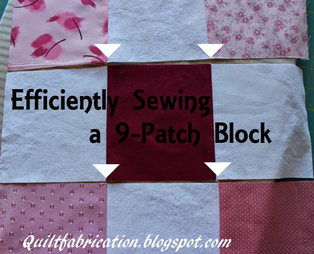 quick easy sewing a 9 patch block quilt
