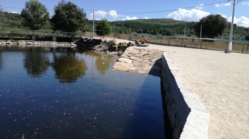 Rampa de acesso á água