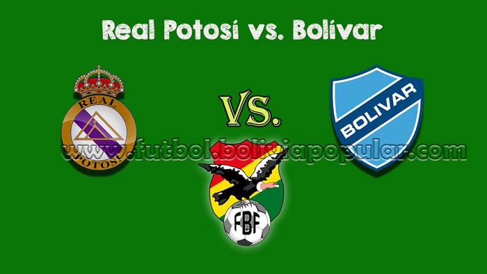 Real Potosí vs. Bolívar - Torneo Clausura 2018
