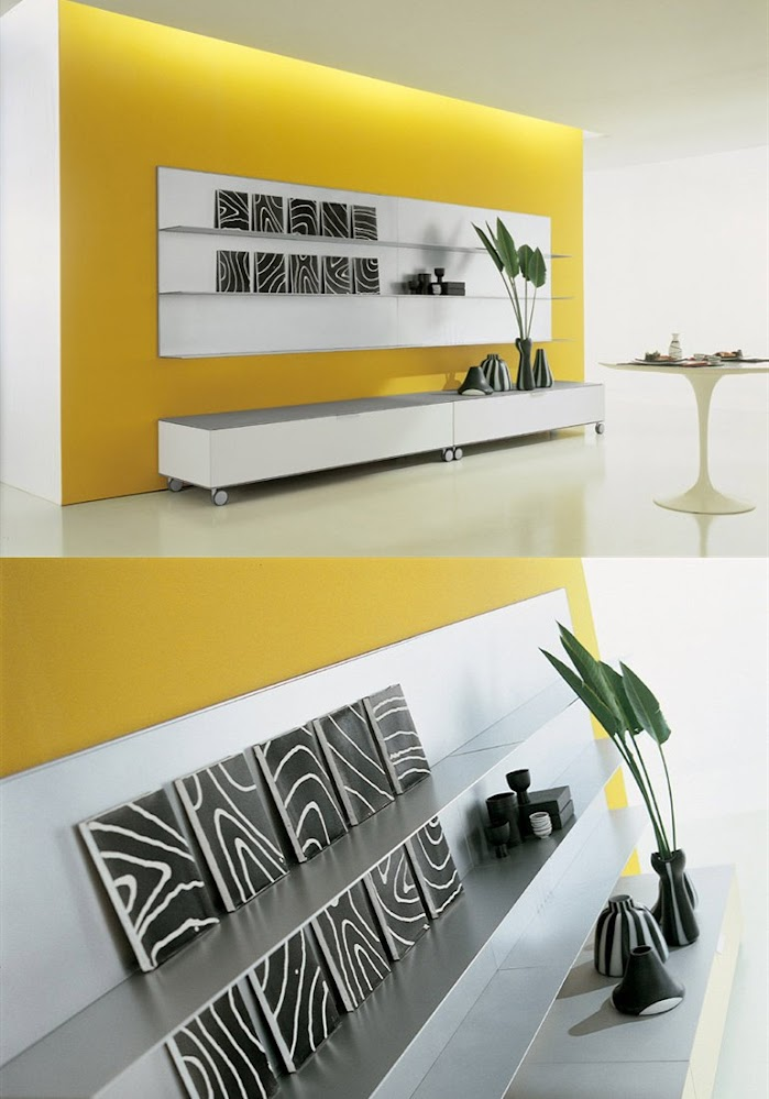 yellow-room-picture-rail