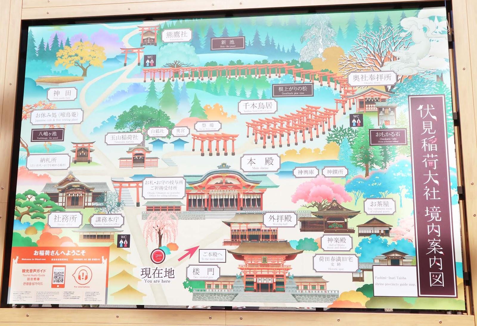 fushimi inari hike